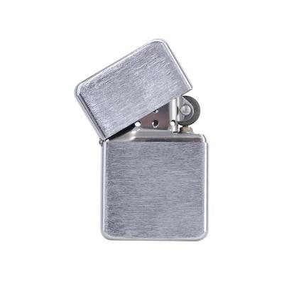 Benzin Lighter Sølv