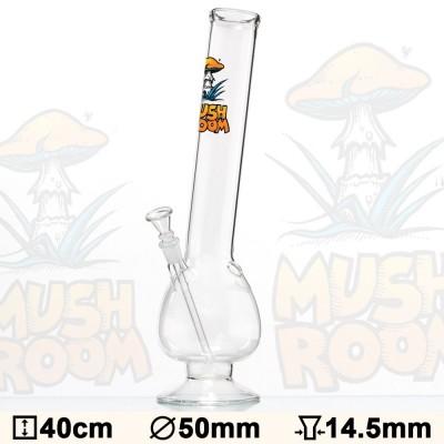 Glas Bong Mushroom 40cm