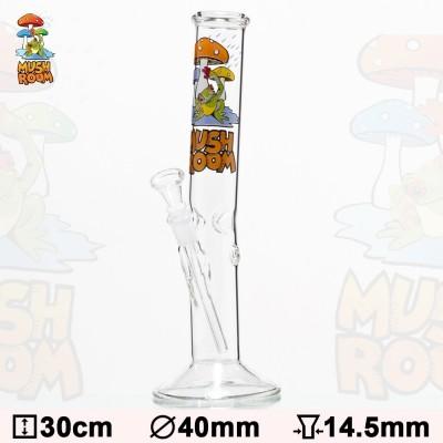 Glas Bong Mushroom 30cm