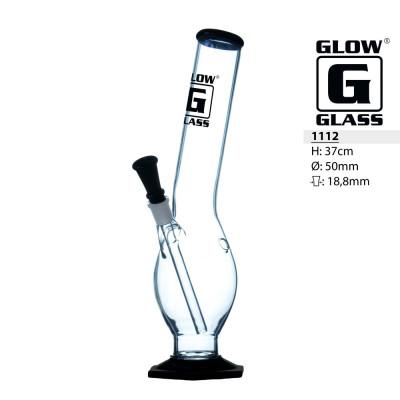Glas Bong Glow 37cm