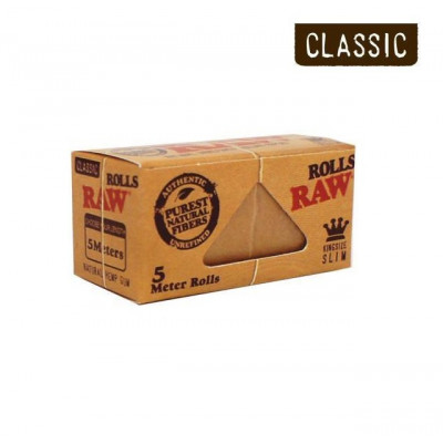 Raw Meter Papir Kingsize Slim