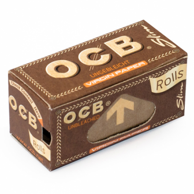 O.C.B. Virgin Brown Slim Rolls