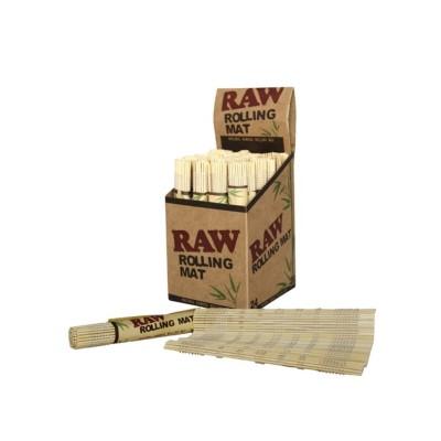 Bambus Rulle Måtte Raw